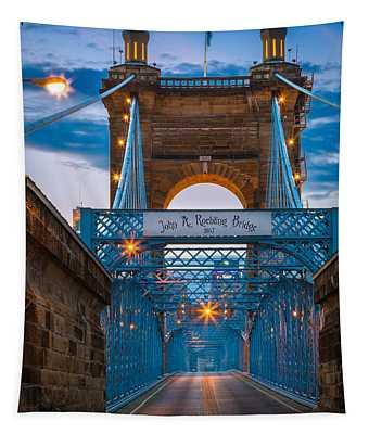 John A. Roebling Suspension Bridge Tapestry