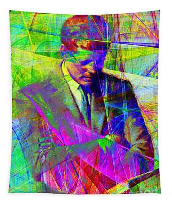 John Fitzgerald Kennedy Jfk In Abstract 20130610v2 Tapestry