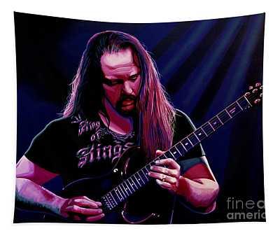 John Petrucci Painting Tapestry