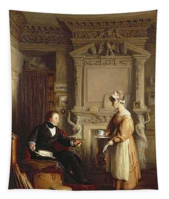 John Sheepshanks And His Maid Tapestry