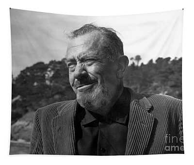 John Steinbeck Pebble Beach, Monterey, California 1960 Tapestry