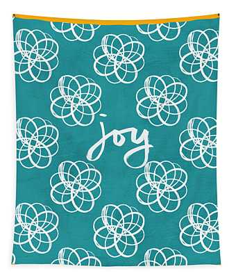 Joy Boho Floral Print Tapestry