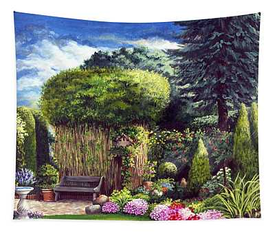 Joy's Garden Tapestry