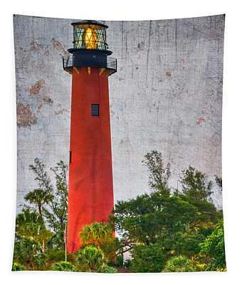 Jupiter Lighthouse Tapestry