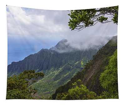 Kalalau Valley 5 - Kauai Hawaii Tapestry