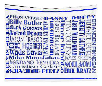 Kansas City Royals The Boys In Blue 2014 Tapestry