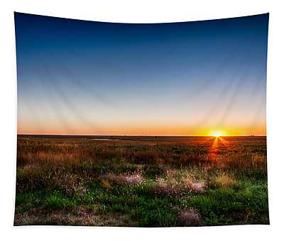 Kansas Sunrise Tapestry