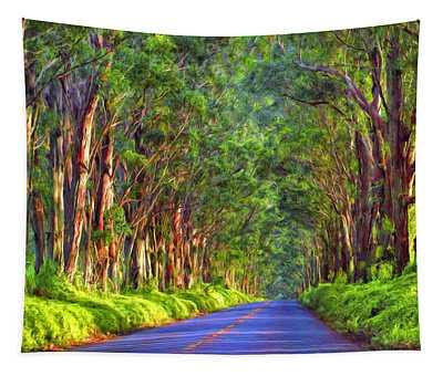 Kauai Tree Tunnel Tapestry