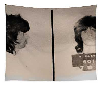 Keith Richards Mugshot - Keith Don't Go Tapestry