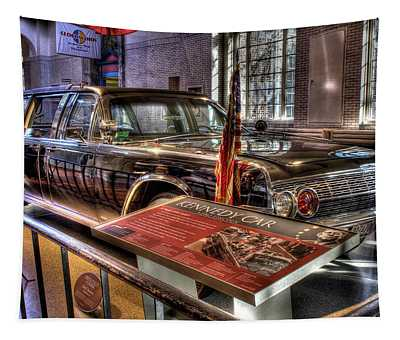 Kennedy Presidential Limousine Henry Ford Museum Dearborn Mi Tapestry