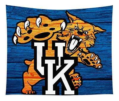 Kentucky Wildcats Barn Door Tapestry