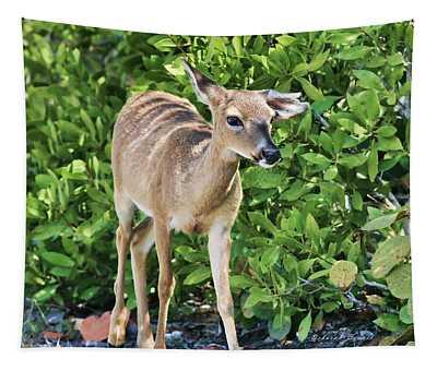 Key Deer Cuteness Tapestry