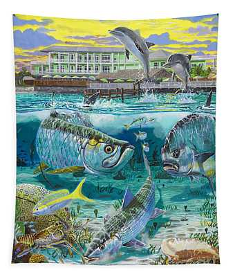 Key Largo Grand Slam Tapestry