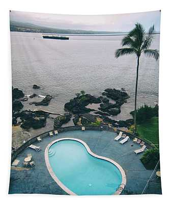 Kidney Pool In Paradise Tapestry