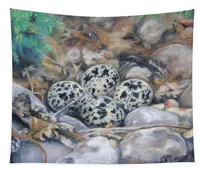 Killdeer Nest Tapestry