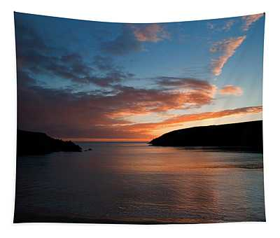 Kilmurrin Cove At Sunset The Copper Tapestry