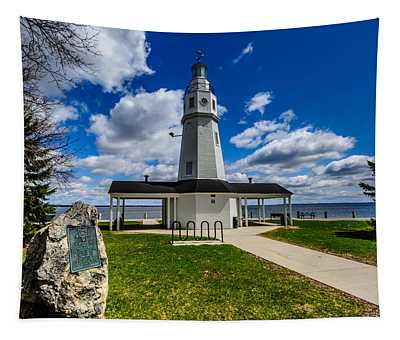 Kimberly Point Lighthouse Tapestry