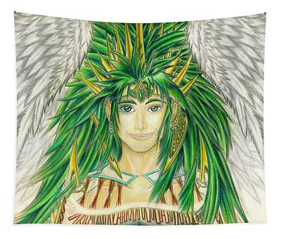 King Crai'riain Portrait Tapestry