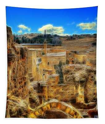 Peaceful Israel Tapestry