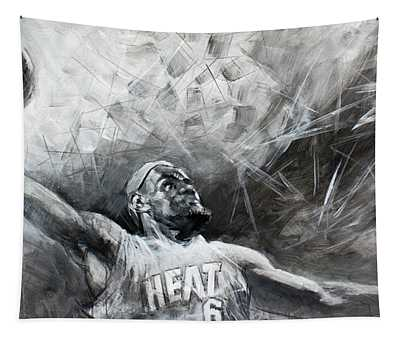 3e2b366becc Lebron James Wall Tapestries   Fine Art America