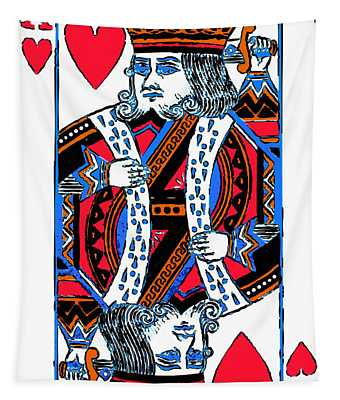 King Of Hearts 20140301 Tapestry