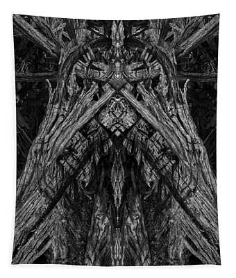 King Of The Wood Tapestry by David Gordon