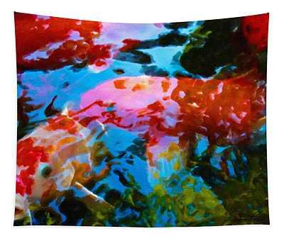 Koi Fish Tapestry