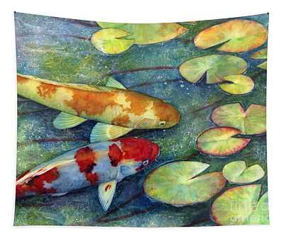 Koi Garden Tapestry