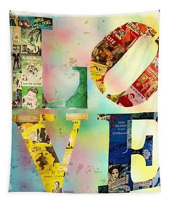 L O V E Tapestry