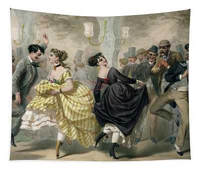 La Closerie De Lilas Tapestry