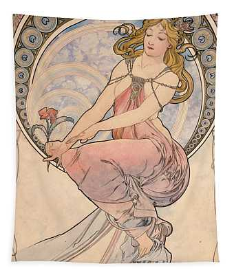 La Peinture, 1898 Watercolour On Card Tapestry