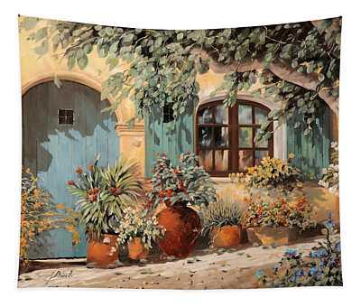 La Porta Azzurra Tapestry