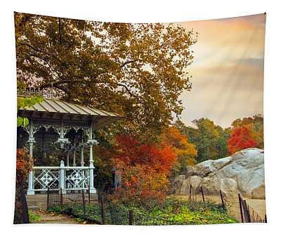 Ladies Pavilion In Autumn Tapestry