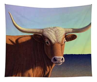 Lady Longhorn Tapestry