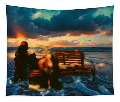 Lady Of The Ocean Tapestry
