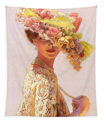 Lady Victoria Victorian Elegance Tapestry