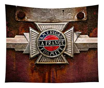 Lafrance Badge Tapestry