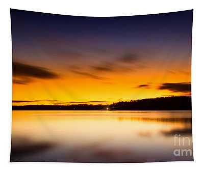 Lake Lanier Sunrise Tapestry