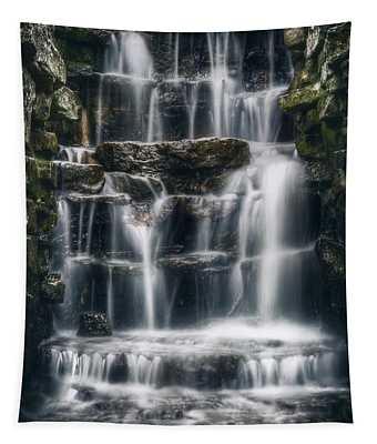 Lake Park Waterfall 2 Tapestry