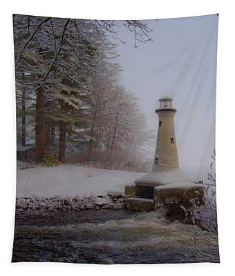 Lake Potanipo Lighthouse Tapestry