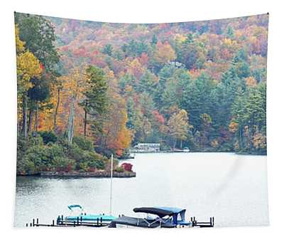 Lake Toxaway In The Fall Tapestry