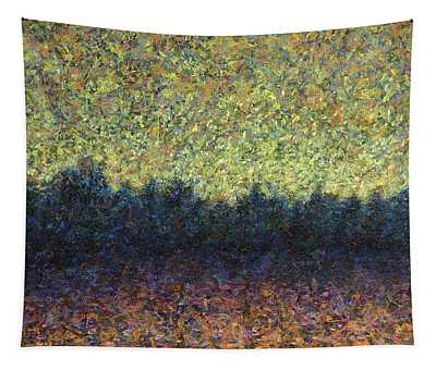 Lakeshore Sunset Tapestry