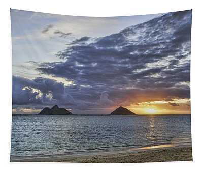 Lanikai Sunrise Tapestry