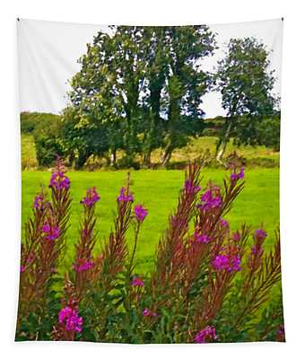 Lanna Fireweeds County Clare Ireland Tapestry