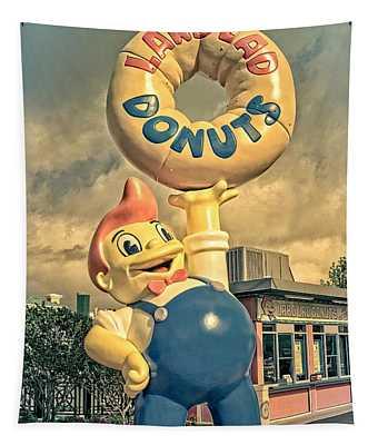 Lard Lad Donuts Tapestry