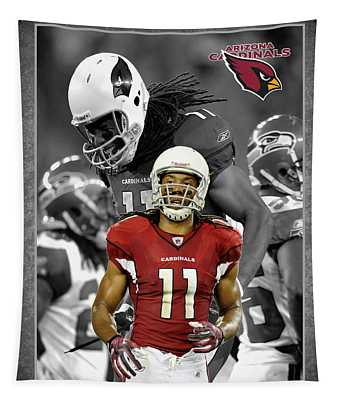 Larry Fitzgerald Cardinals Tapestry