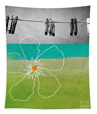 Laundry Day Tapestry