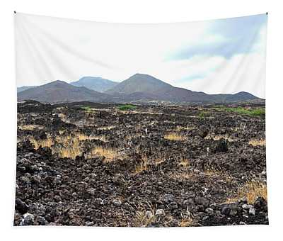 Lava Fields-booby Hill, Ascension Island Tapestry