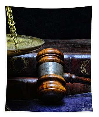 Lawyer - Books Of Justice Tapestry