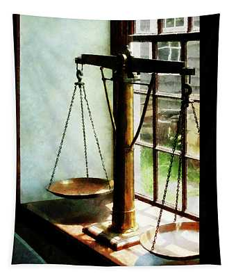 Lawyer - Scales Of Justice Tapestry